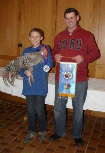 Europameister Thomas Martin mit Sohn Sebastian