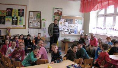 Traugott Sailer zu Gast bei der 2. Klasse