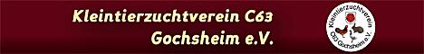 Banner Kleintierzuchtverein C63 Gochsheim e.V.